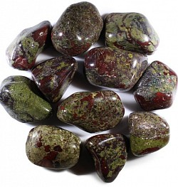 Dragon's Blood Jasper is a powerful healing stone to remove energy blockages & negative energy. Carry for an extra boost of energy and physical strength. -$3.00