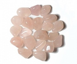 Rose Quartz opens the heart to all types of love. It helps to raise your self-esteem, restore confidence & balance emotions. (HEART)