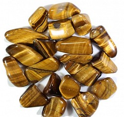 Tiger's Eye is a solar gem of courage, strength and personal power. It helps you remain grounded and supported during times of stress. (SOLAR PLEXUS) - $3.00