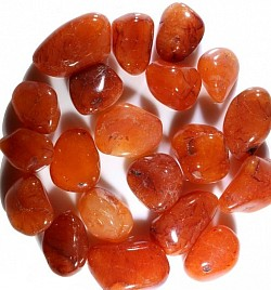 Carnelian is the stone of courage, vitality, sexuality, action and confidence. (SACRAL) - $3.00