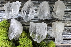 Clear Quartz energizes and activates your chakras. It amplifies the energy level of any stone it touches. Program them to hold intentions. (CROWN) - $3.00